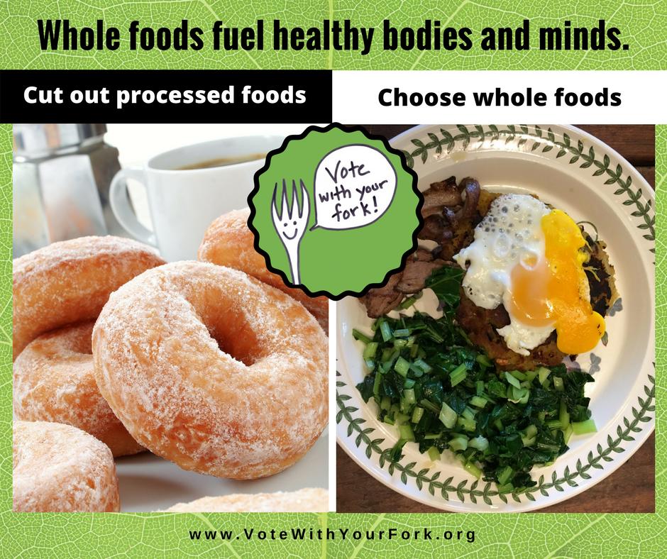 organic vs processed food