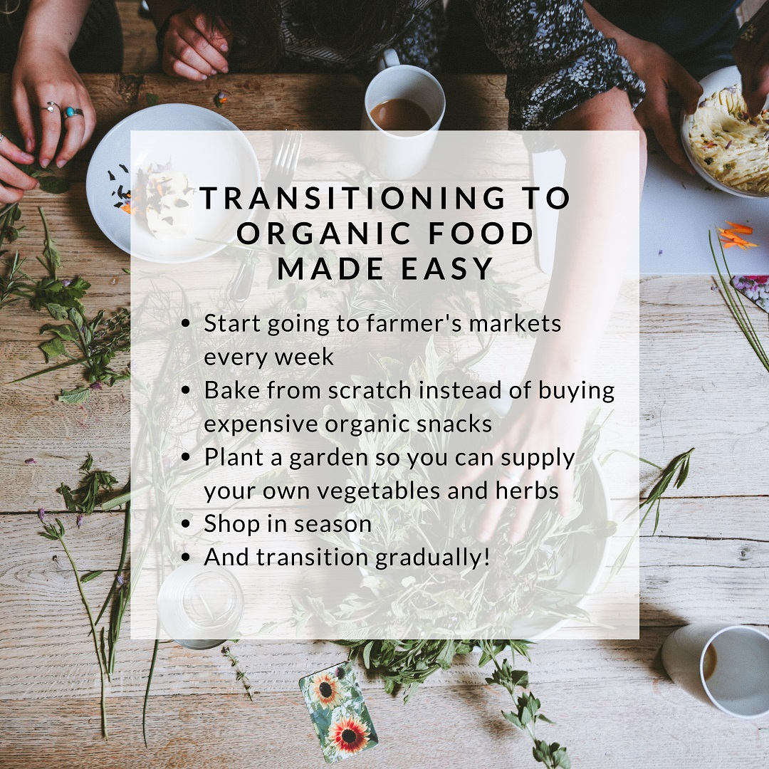 Transitioning to Organic Food